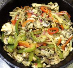 Dr. Sebi Alkaline Electric Veggie Fajitas Recipe