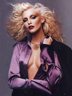 late 70's high glamour nadja auermann