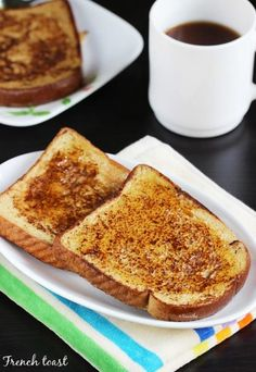 Egg recipes - Collection of 52 anda recipes - Swasthi's Recipes Sandwich Recipes, Egg Recipes, Indian Food Recipes, Vegetarian Recipes, Healthy Recipes, Drink Recipes, Perfect French Toast, Make French Toast, Vegan Milk