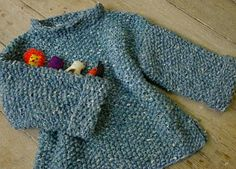 The Potty Knitter: Toddler Tee Pattern. Sizes newborn to 3 years.