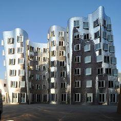 Frank Gehry Building, Media Harbour, Dusseldorf, North Rhine-Westphalia, DE // by Stephan Rudolph