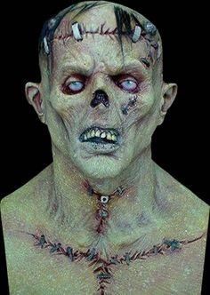 halloween mask frankenstein