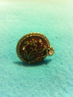 Vintage Style Bronze Ring by Universalideas on Etsy