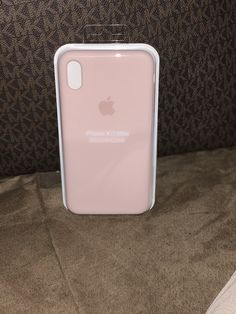Pink Sand Apple Silicone Case for iPhone XS Max Pink Sand, Apple Products, Iphone Cases, Iphone Case, I Phone Cases