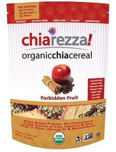 Chiarezza! Gluten Free, Vegan Superfood Cereal - 5 Winners! - 1 bag per winner. RSVP in order to win prizes: http://glutenfreerecipebox.com/gluten-free-twitter-party/