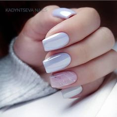 Mismatched nail art design ideas