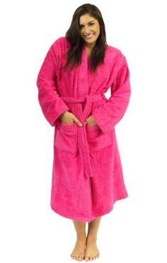 206a7862f0 TowelSelections Turkish Terry Kimono Bathrobe – Egyptian Cotton