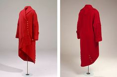 1914 red coat is called a wrap coat, ready-made by Westerby in Copenhagen.
