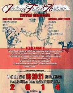 Tattoo & Ink: Italian Tattoo Artists 2014