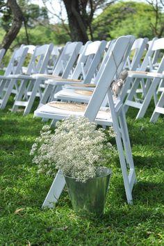 Simple flowers! Falaza #weddings http://falaza.co.za/weddings/