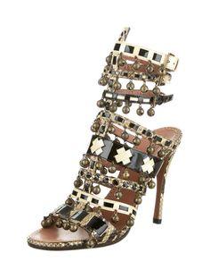Alaïa Gladiator Sandals