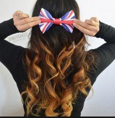 Ombré with a cute Brit-Bow