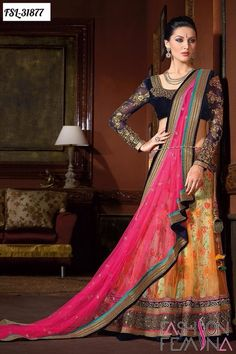 #VYOMINI - #FashionForTheBeautifulIndianGirl #MakeInIndia #OnlineShopping #Discounts #Women #Style #EthnicWear #OOTD #Lehenga Only Rs 5582/, get Rs 970/ #CashBack,  ☎+91-9810188757 / +91-9811438585