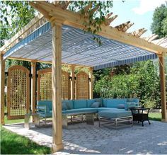 outdoor pergolas covered | Pergola and Patio Covers Freestanding But Protected Structures ...