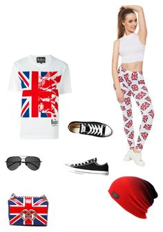 """""""Untitled #9"""" by greyrose223 on Polyvore featuring Comme des Garçons, WearAll, Dsquared2, Converse and Yves Saint Laurent"""