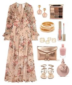 A fashion look from February 2017 featuring rose dress, strappy sandals and pocket purse. Browse and shop related looks. Look Fashion, Hijab Fashion, Fashion Dresses, Summer Outfits Women, Spring Outfits, Classy Outfits, Cute Outfits, Cute Maternity Outfits, Church Outfits