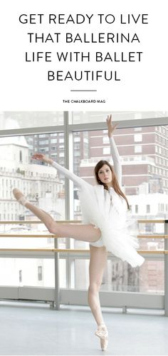 The lovely creator of this ballet-inspired workout is bringing our inner four-year-old's ballerina dreams to life…