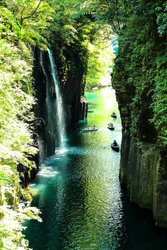 Takachiho Gorge Miyazaki Japan 宮崎県高千穂峡
