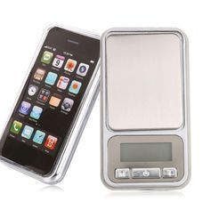 Digital Scales 0.01g x 100g iPhone Pocket Weighing Gold Gems Jewellery Herbs