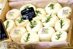 oh yum! goat cheese with fresh herbs! -  Discover French Temptations during your event with LOUIS event