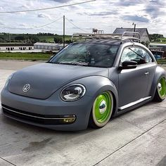 Bagged Bug, Volkswagen lowered