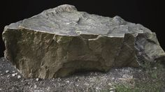 Photogrammetry Rock, Lluis Andreu on ArtStation at https://www.artstation.com/artwork/0L6n8