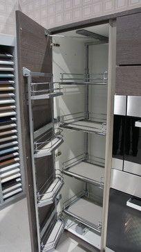 Kitchen Cabinets Tall modern kitchenburger bauformat: high gloss white handleless