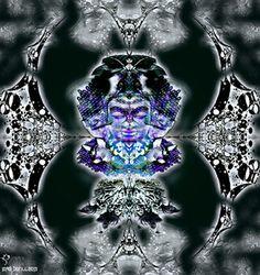 EL GUARDIAN DE LAS VIDAS II.Collaboration Psydrack (USA) &Jordi Bofill-Cosmos Art (Spain).2013