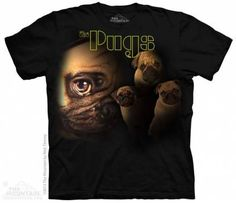 The Mountain-Shirts Hunde Mops - The Pugs