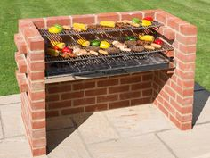 Build Your Own Brick BBQ Pit