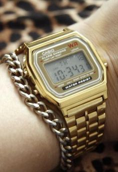 I love my gold Casio watch- even went thru the washer a couple of times.