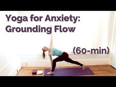 Yoga for Anxiety - Stress Relief Flow (60 min) - YouTube