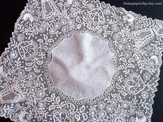 antique lace hankies   Vintage Lace Wedding Handkerchief   Flickr - Photo Sharing!