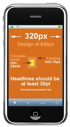 6 Design Tips for Mobile Email