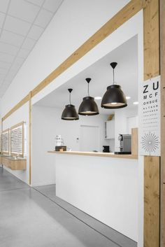 Clinic Interior Design, Glasses Shop, Optical Shop, Retail Interior, Interior Decorating, Ceiling Lights, Lighting, Jcd, Shopping