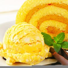 This lemon cake roll recipe is filled with citrus flavors. Light and tangy, and is very nice served with orange sherbert.. Lemon Cake Roll Recipe from Grandmothers Kitchen.