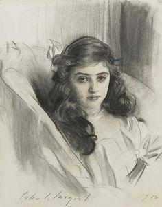 John Singer Sargent's Rosie Marie-Louise Derenbur