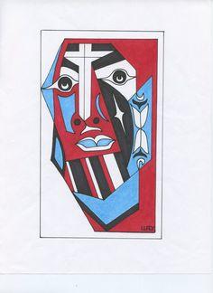 Brother Jesus by NativeWorldPrints on Etsy