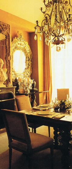 Coco Chanel apartment House and Garden archives..timeless