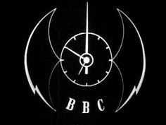 BBC clock-Mid 1950's/Late 1950's British Broadcasting Corporation, My Past Life, Bbc Tv, Test Card, Clocks, Nostalgia, Memories, Technology, Times