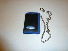 Pepsi Cola Tri-Fold Wallet w/ Chain and Clip From the 90's Pepsi Stuff Points