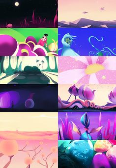 Space Dandy- I love the living planet episode! The animation is stunning