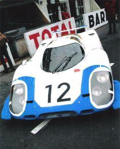 V.Elford / R.Attwood - Porsche 917lh - Le Mans 1969.
