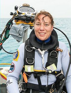 Astronaut Dorothy Metcalf-Lindenburger searches underwater for the answers that might save Earth