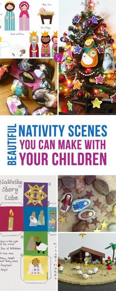 Oh wow these Nativity scenes are BEAUTIFUL! Can't wait to make some story stones!
