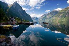 Eikesdal, Norway by e-ClairePhoto