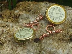 Time for Tea  Steampunk Wedding Button Cufflinks with by Shalotte, £10.00
