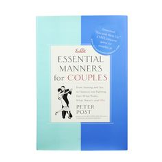 Peter Post offers the secrets to a long and happy marriage or partnership—without psychoanalysis or prescription medication. The good news: often just a few simple words or actions can mend a rift. Essential Manners for Couples reveals how easy it can be to keep the spark in your relationship.