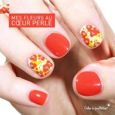 Un cœur de caviar pour mes petites fleurs… http://cakoapaillettes.fr/blog/mes-fleurs-au-coeur-perle/