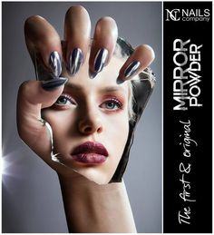 29 photos I took for Polish makeup and nail artists. Sometimes it was smelly, sticky, uncomfortable, even painfull for a model and took a lot of time. Mirror Photography, Hand Photography, Makeup Photography, Fashion Photography, Mirror Effect Nails, Hands On Face, Hand Makeup, Light Shoot, Weird Look